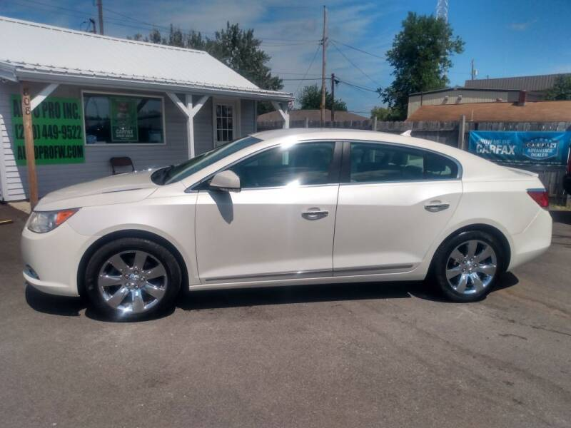 2011 Buick LaCrosse for sale at Auto Pro Inc in Fort Wayne IN