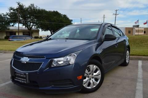 2013 Chevrolet Cruze for sale at E-Auto Groups in Dallas TX