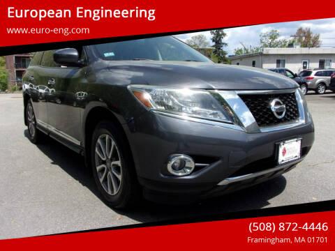 2014 Nissan Pathfinder for sale at European Engineering in Framingham MA