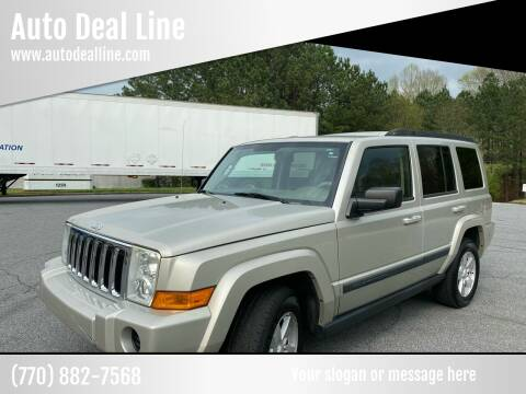 2008 Jeep Commander for sale at Auto Deal Line in Alpharetta GA