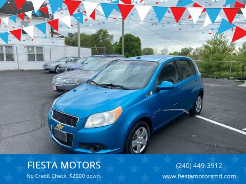 2009 Chevrolet Aveo for sale at FIESTA MOTORS in Hagerstown MD