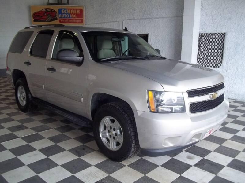 2008 Chevrolet Tahoe for sale at Schalk Auto Inc in Albion NE
