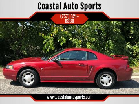 2001 Ford Mustang for sale at Coastal Auto Sports in Chesapeake VA