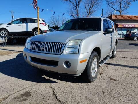 2003 Mercury Mountaineer for sale at Lamarina Auto Sales in Dearborn Heights MI