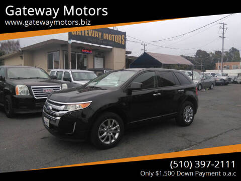 2011 Ford Edge for sale at Gateway Motors in Hayward CA