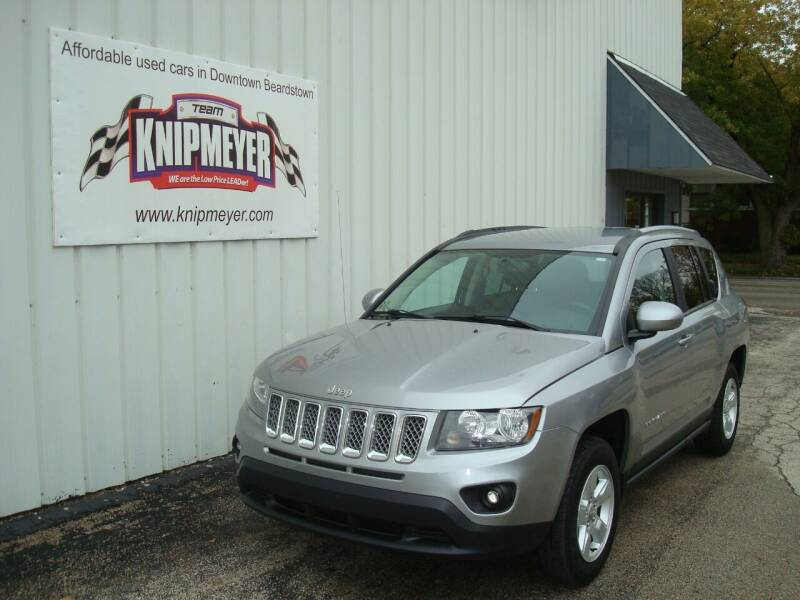 2017 Jeep Compass for sale at Team Knipmeyer in Beardstown IL