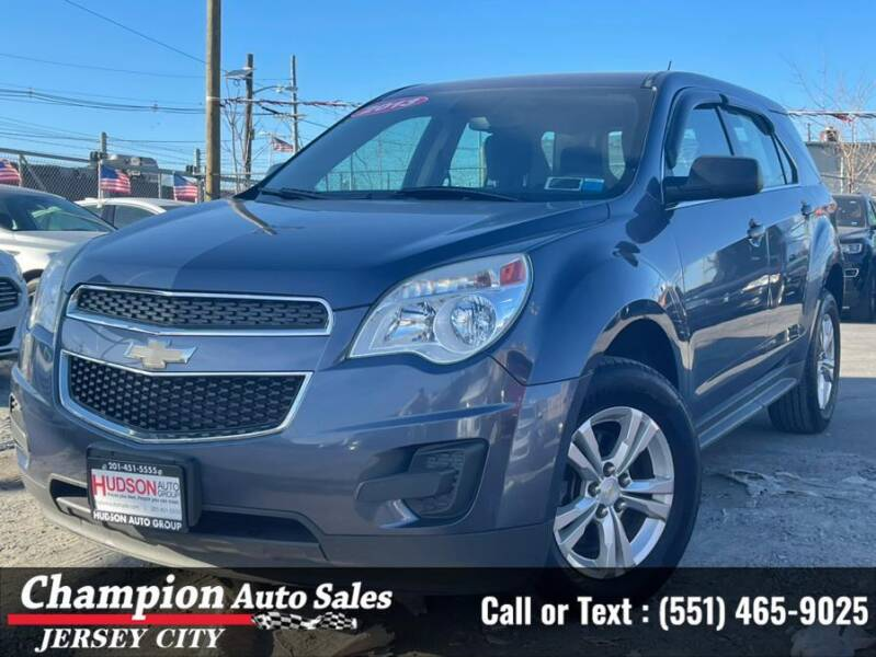 2013 Chevrolet Equinox for sale at CHAMPION AUTO SALES OF JERSEY CITY in Jersey City NJ