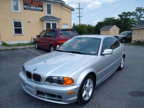 2003 BMW 3 Series for sale at Top Gear Motors in Winchester VA
