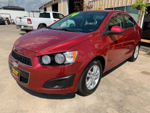 2014 Chevrolet Sonic for sale at Market Street Auto Sales INC in Houston TX