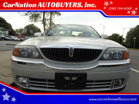 2001 Lincoln LS for sale at CarNation AUTOBUYERS, Inc. in Rockville Centre NY