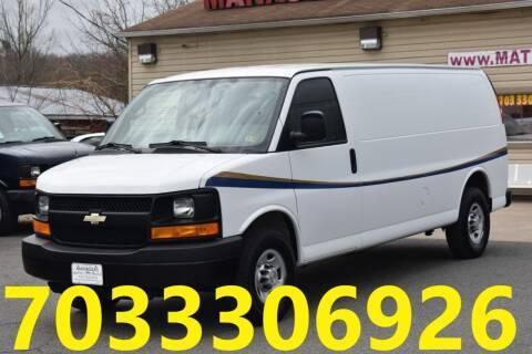 2013 Chevrolet Express Cargo for sale at MANASSAS AUTO TRUCK in Manassas VA
