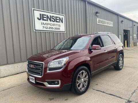 2016 GMC Acadia for sale at Jensen's Dealerships in Sioux City IA