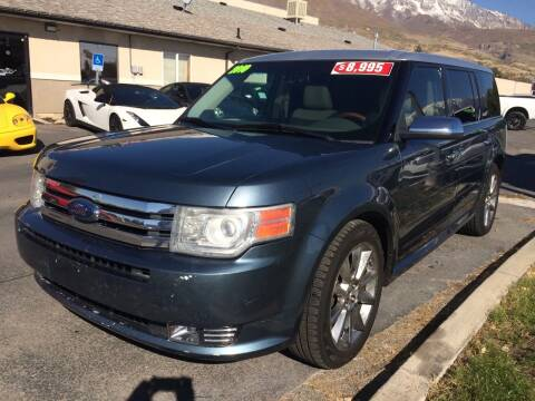 2010 Ford Flex for sale at PLANET AUTO SALES in Lindon UT