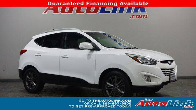 2014 Hyundai Tucson for sale at The Auto Link Inc. in Bartonville IL
