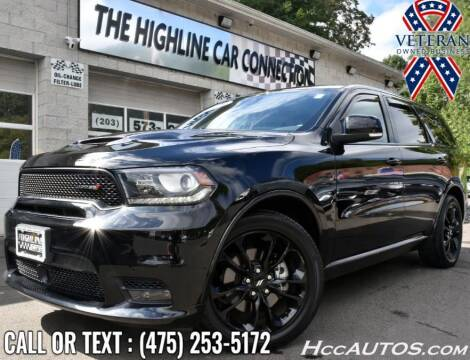 2020 Dodge Durango for sale at The Highline Car Connection in Waterbury CT