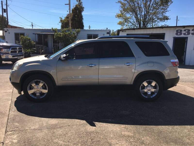2007 GMC Acadia for sale at AMERICAN AUTO COMPANY in Beaumont TX