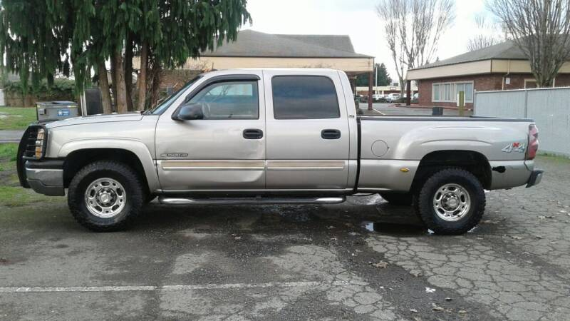 2003 Chevrolet Silverado 1500HD for sale at Car Guys in Kent WA