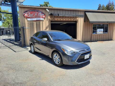 2016 Scion iA for sale at Rent To Own Auto Showroom LLC - Finance Inventory in Modesto CA