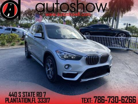 2016 BMW X1 for sale at AUTOSHOW SALES & SERVICE in Plantation FL
