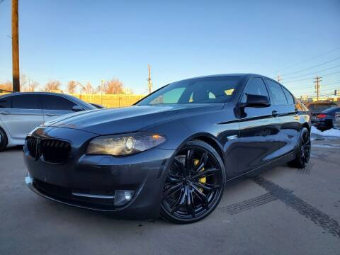 2013 BMW 5 Series for sale at LA Motors LLC in Denver CO