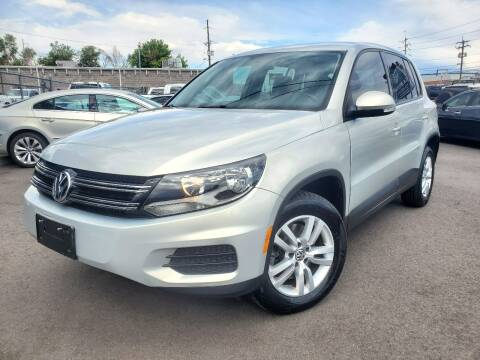 2013 Volkswagen Tiguan for sale at LA Motors LLC in Denver CO