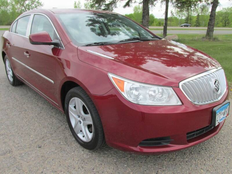 2011 Buick LaCrosse for sale at Buy-Rite Auto Sales in Shakopee MN