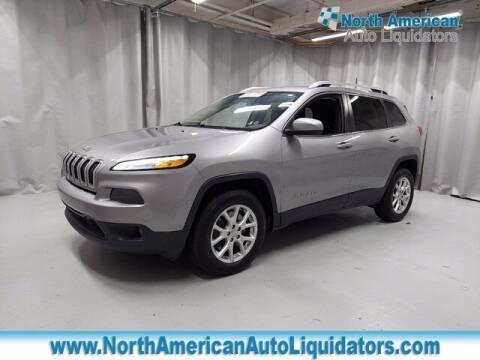 2016 Jeep Cherokee for sale at North American Auto Liquidators in Essington PA