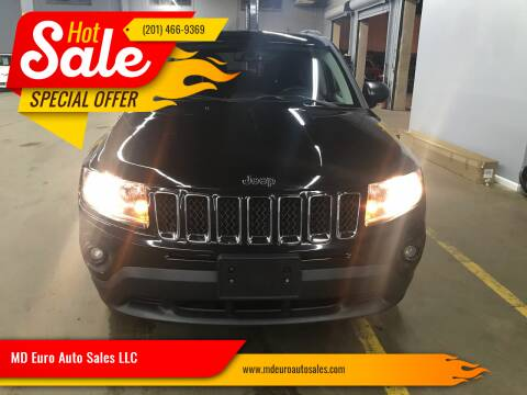 2014 Jeep Compass for sale at MD Euro Auto Sales LLC in Hasbrouck Heights NJ