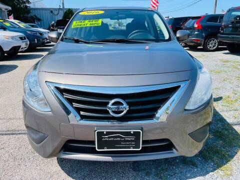2016 Nissan Versa for sale at Cape Cod Cars & Trucks in Hyannis MA