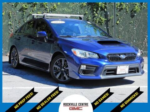 2019 Subaru WRX for sale at Rockville Centre GMC in Rockville Centre NY