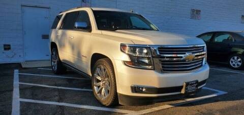 2015 Chevrolet Tahoe for sale at ADVANTAGE AUTO SALES INC in Bell CA