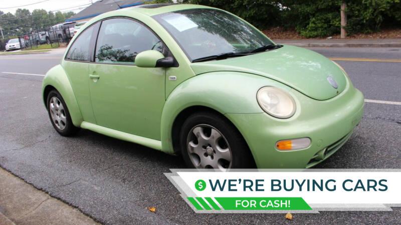 2002 Volkswagen New Beetle for sale at NORCROSS MOTORSPORTS in Norcross GA