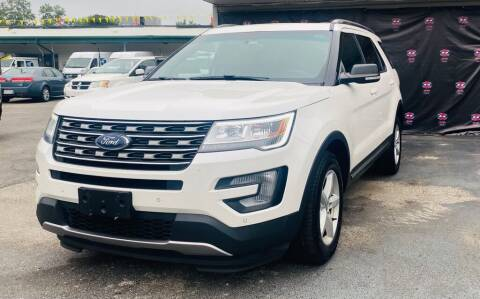 2016 Ford Explorer for sale at AH Ride & Pride Auto Group in Akron OH