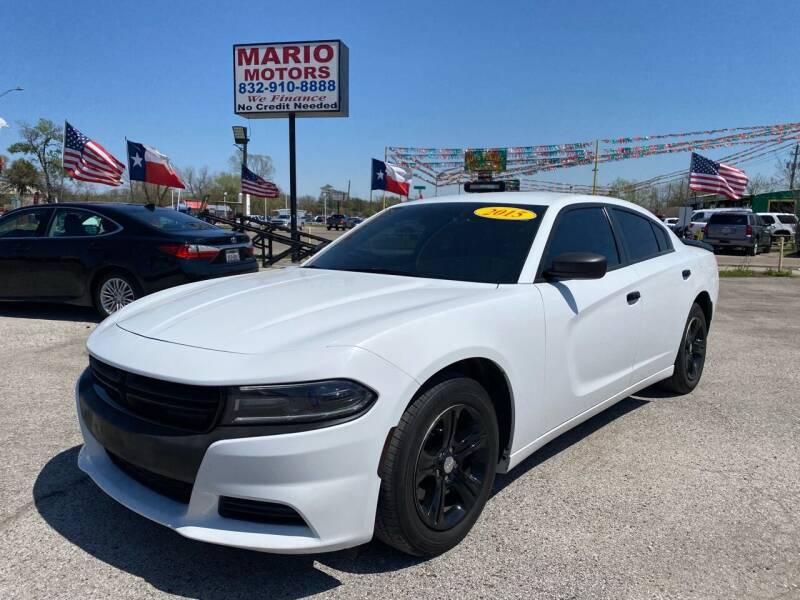 2015 Dodge Charger for sale at Mario Motors in South Houston TX