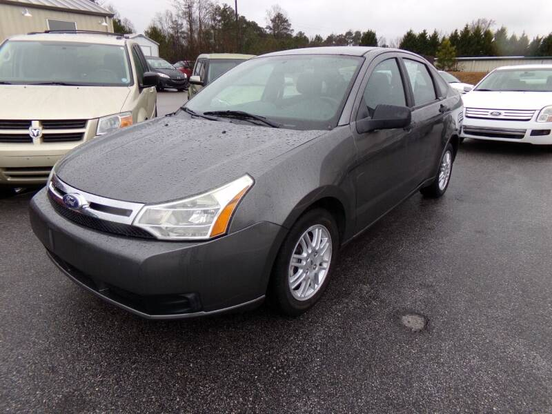 2011 Ford Focus for sale at Creech Auto Sales in Garner NC
