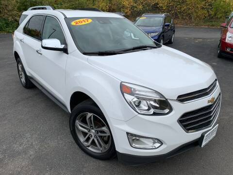 2017 Chevrolet Equinox for sale at Bob Karl's Sales & Service in Troy NY