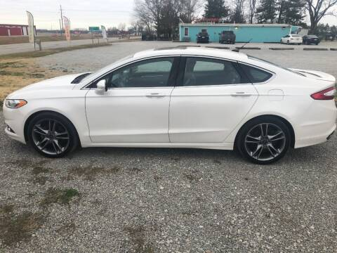 2013 Ford Fusion for sale at LYNDON MOTORS in Lyndon KS