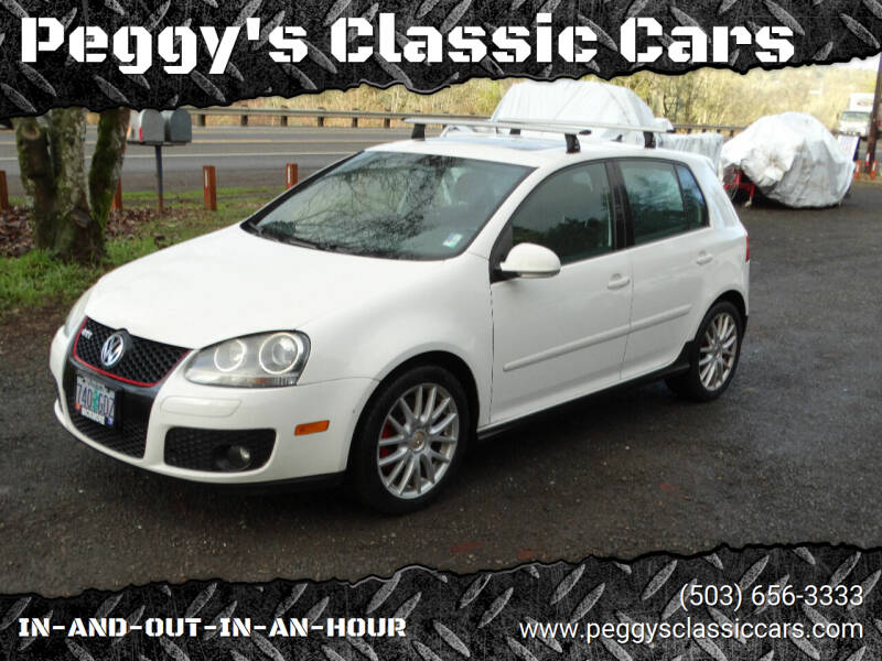 2007 Volkswagen GTI for sale at Peggy's Classic Cars in Oregon City OR