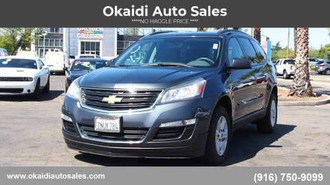 2013 Chevrolet Traverse for sale at Okaidi Auto Sales in Sacramento CA