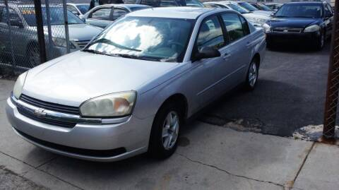 2005 Chevrolet Malibu for sale at GM Automotive Group in Philadelphia PA