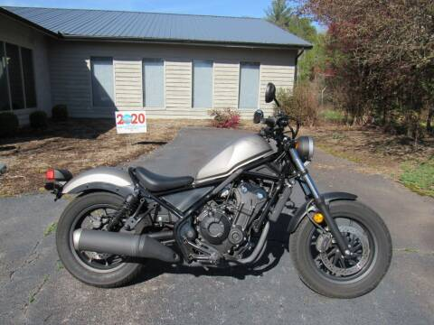 2018 Honda Rebel 500 for sale at Blue Ridge Riders in Granite Falls NC