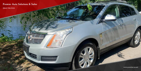 2011 Cadillac SRX for sale at Premier Auto Solutions & Sales in Quinton VA