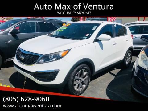 2014 Kia Sportage for sale at Auto Max of Ventura in Ventura CA