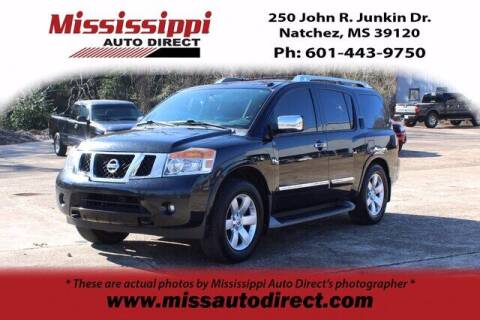 2013 Nissan Armada for sale at Auto Group South - Mississippi Auto Direct in Natchez MS