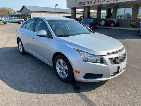 2014 Chevrolet Cruze for sale at Osceola Auto Sales and Service in Osceola WI