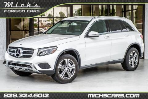 2017 Mercedes-Benz GLC for sale at Mich's Foreign Cars in Hickory NC