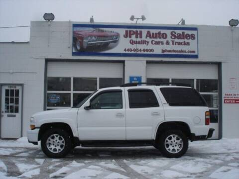2006 Chevrolet Tahoe for sale at JPH Auto Sales in Eastlake OH