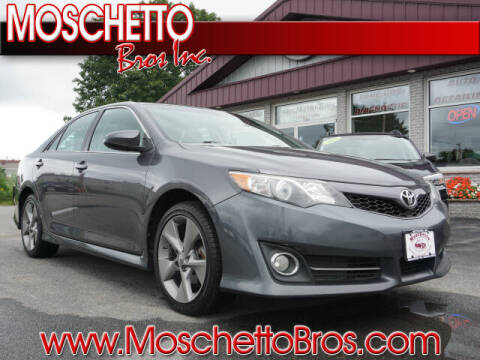 2014 Toyota Camry for sale at Moschetto Bros. Inc in Methuen MA