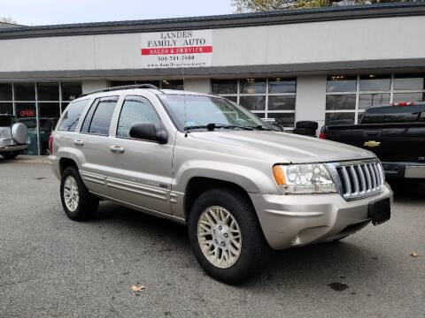 2004 Jeep Grand Cherokee for sale at Landes Family Auto Sales in Attleboro MA