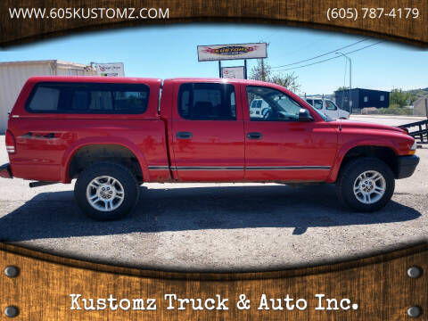 2004 Dodge Dakota for sale at Kustomz Truck & Auto Inc. in Rapid City SD